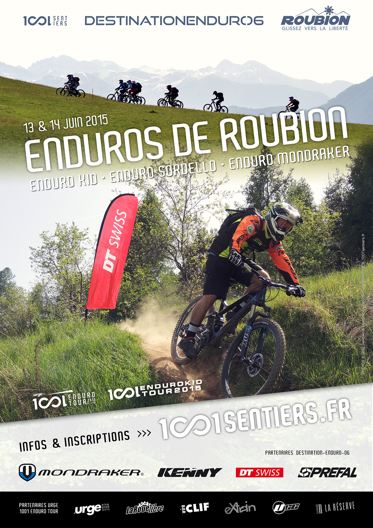 Enduros & Enduro kid de Roubion / Cloture imminente
