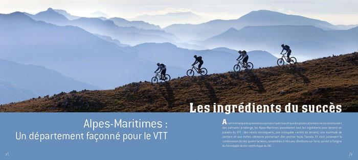 livre-alpes-maritimes-terre-de-vtt-ingredients greg germain 06 librairie vtopo