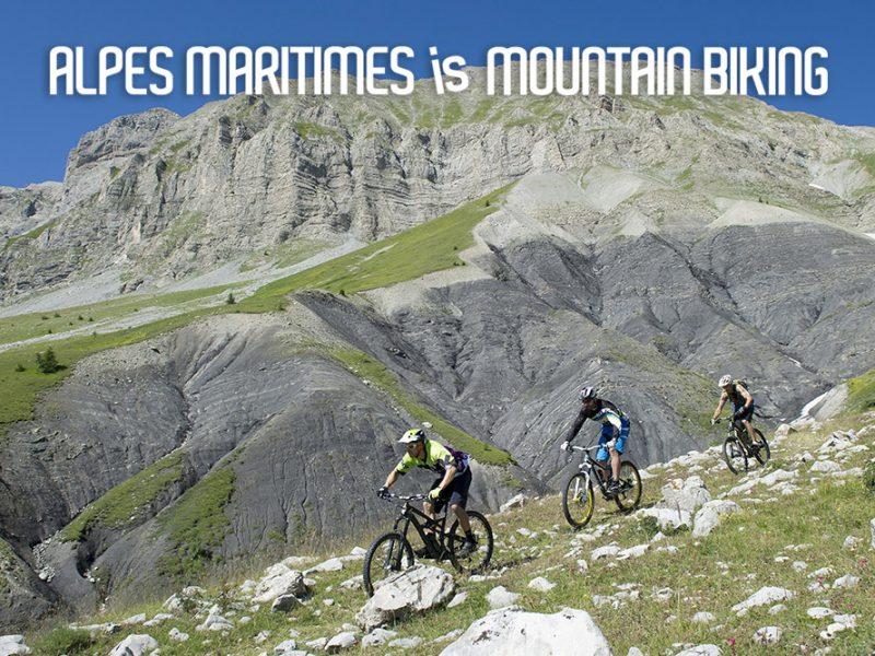 Alpes-Maritimes is Mountain Biking