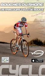 vtopo cyclo route topo 13 bouches du rhone