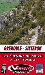 vtopo vtt topo chemins soleil grenoble sisteron