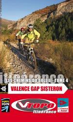 vtopo vtt topo chemins soleil valence gap sisteron