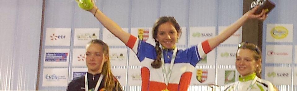 Lucie Masotti championne nationale UFOLEP