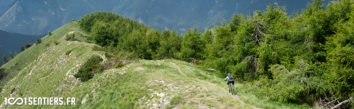 Portfolio: L'Alta Via à la sauce 1001sentiers
