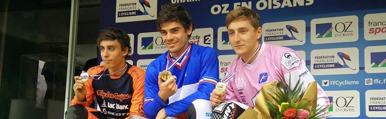 Un nouveau titre de champion de France pour Bruni
