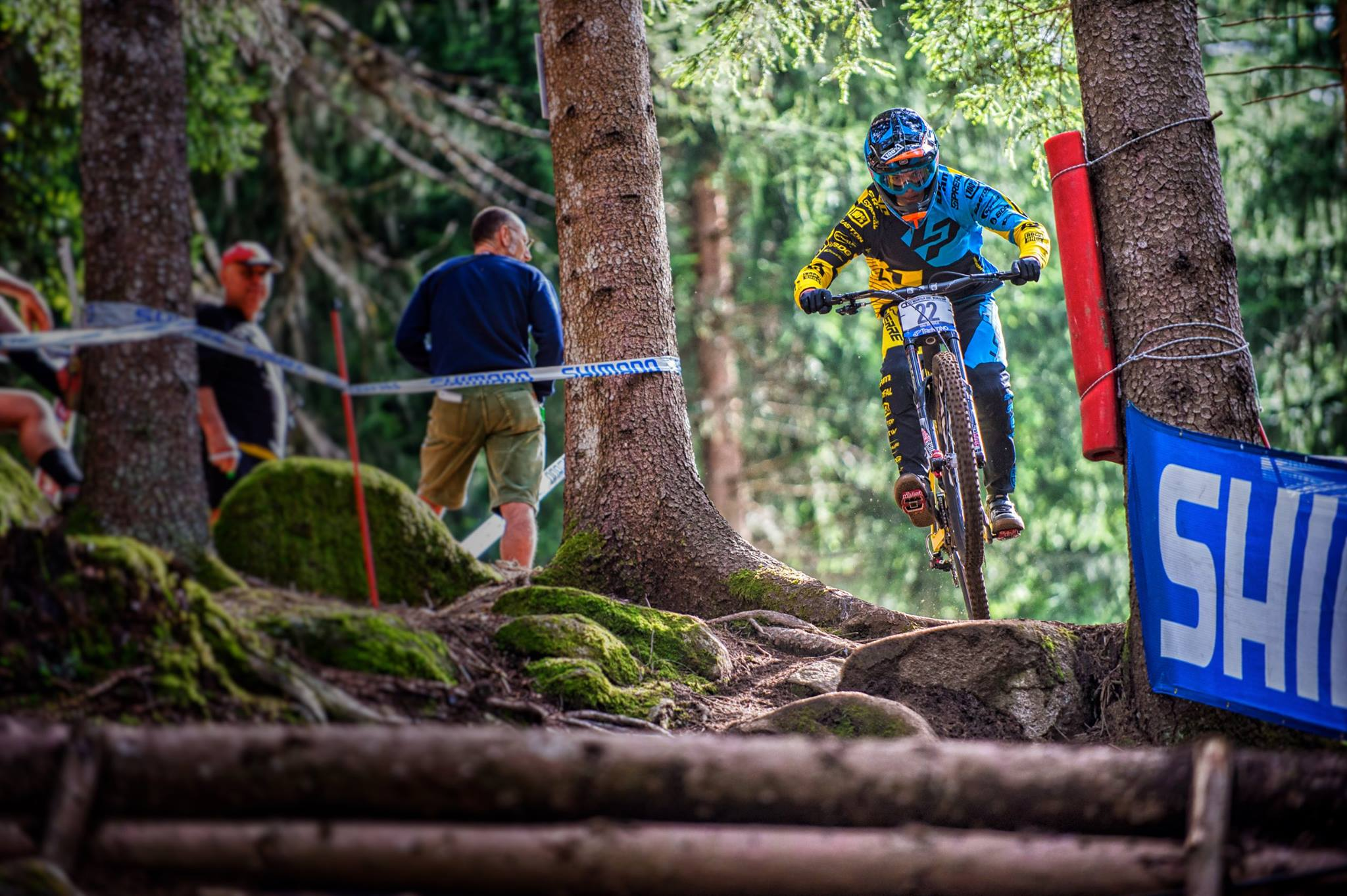 World Cup DH Val di Sole Vergier 2