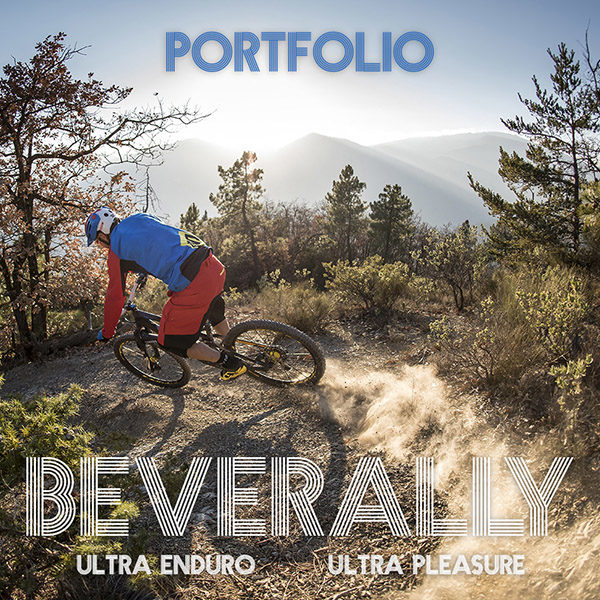 Portfolio / Sur les sentiers du Bévérally avec Fabien Barel