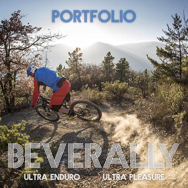 Portfolio: Sur les sentiers du Bévérally avec Fabien Barel