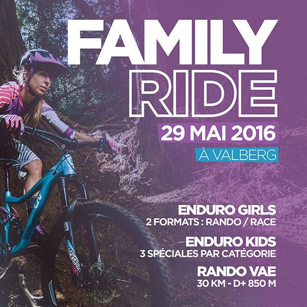 Family Ride de Valberg 2016 / Dernières infos & dernières places
