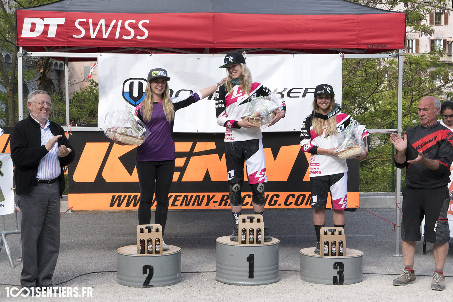 enduro escarene 1001sentiers podium dames