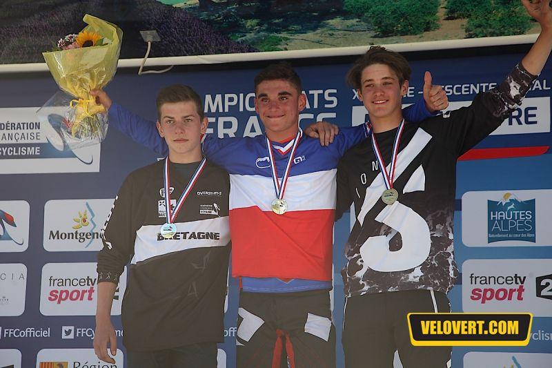 championnats france descente vtt 2016 daprela velovert