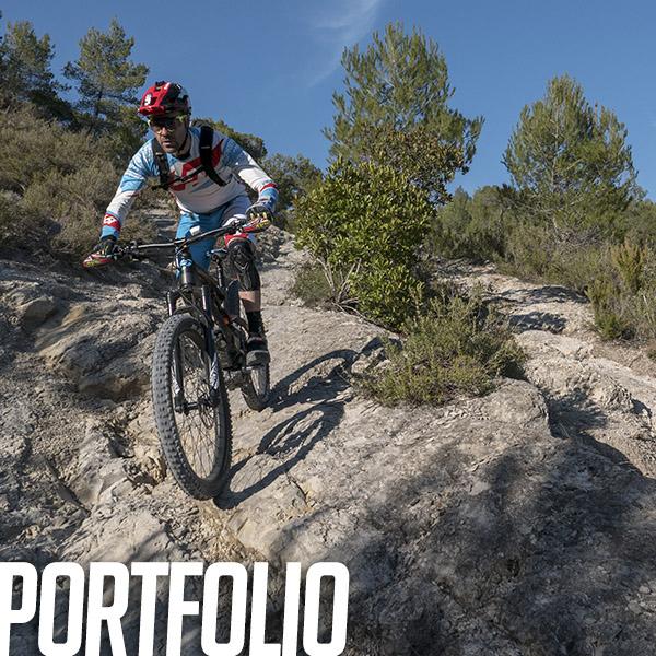 Portfolio: Orgie enduro & Vouilloz Ride Session sur les spots nissarts