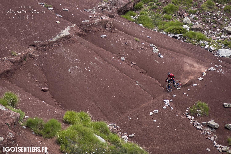1001sentiers aventure alpine red ride
