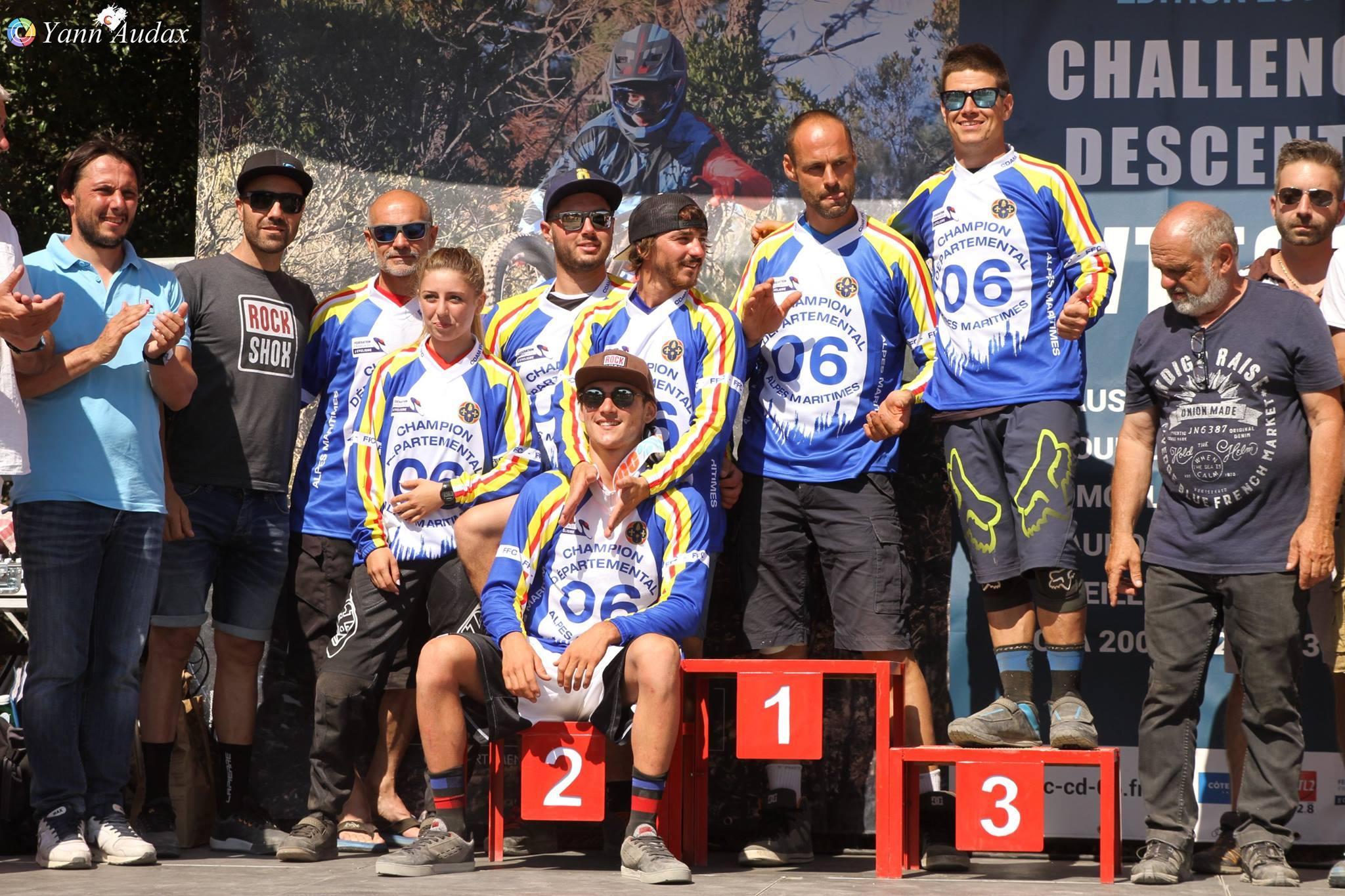 DH peille 2017 yann audax champions