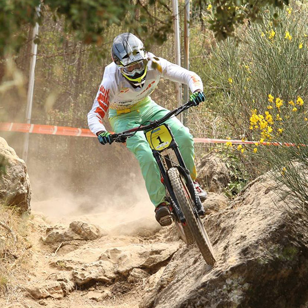 DH de Peille 2017: Thibaut Daprela a survolé la piste mythique