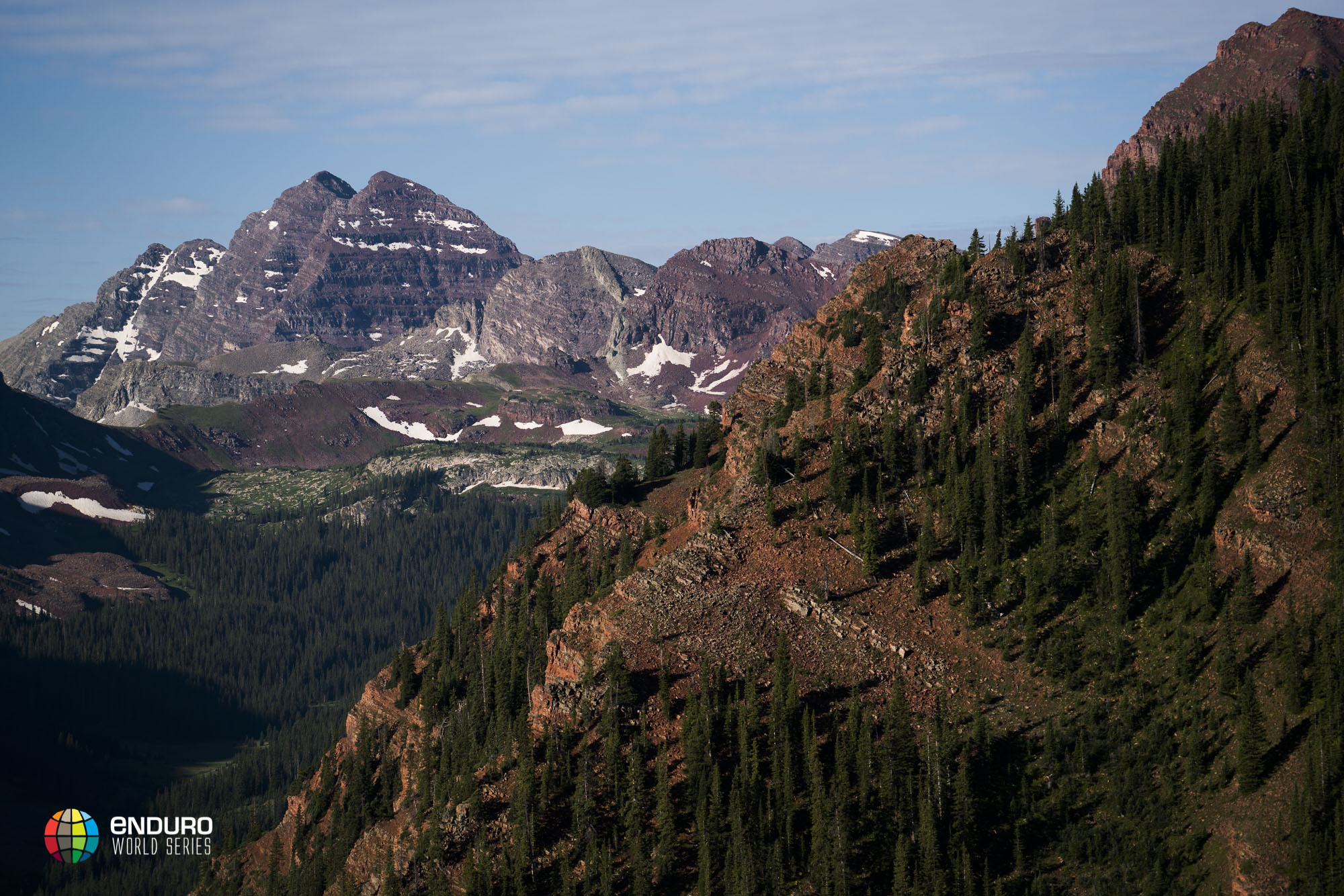 With clear weather at the top of the mountain the view of the Maroon bells was phenomenal