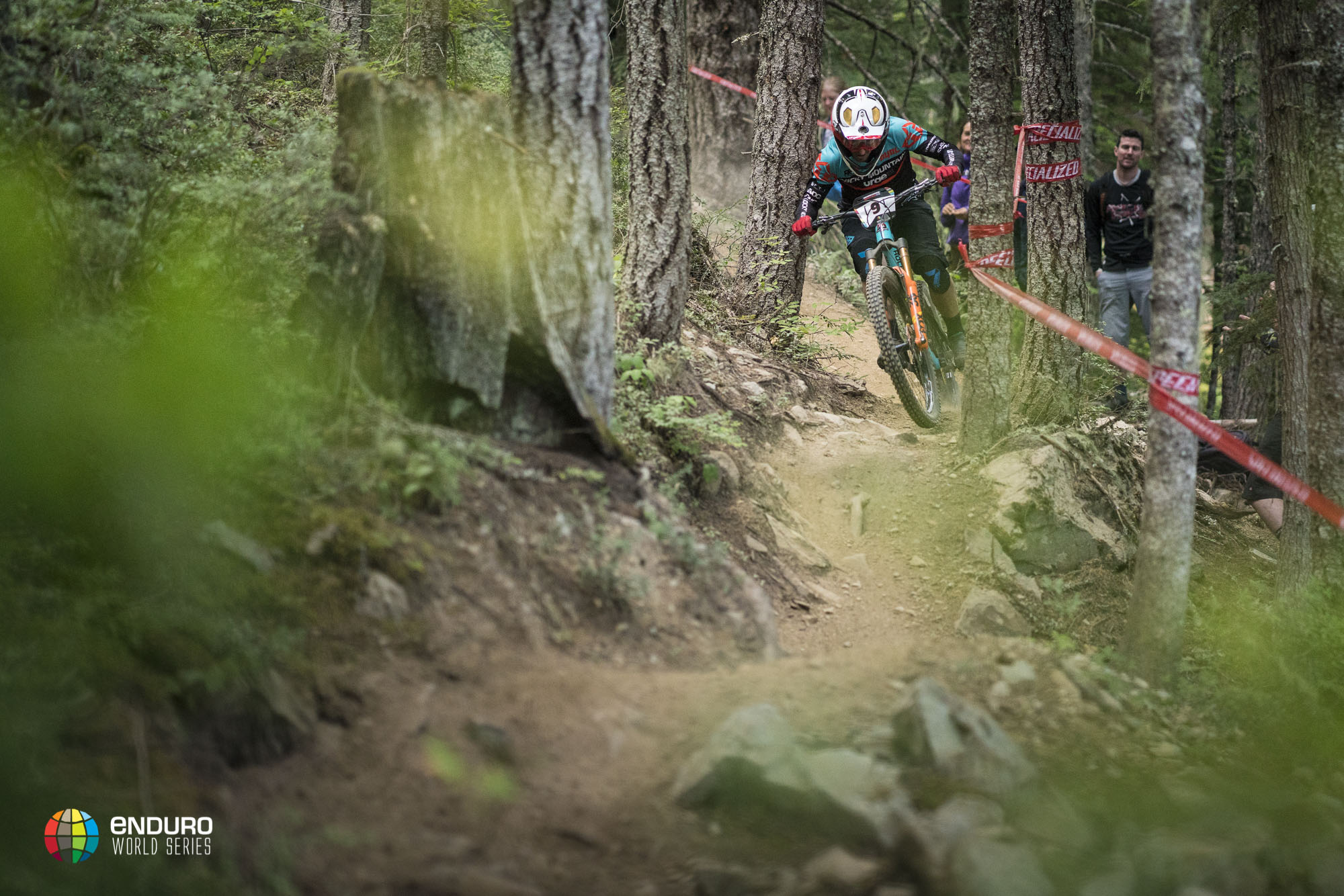Jesse Melamed finished what he started here previously in Whistler, finally winning a round of the EWS.