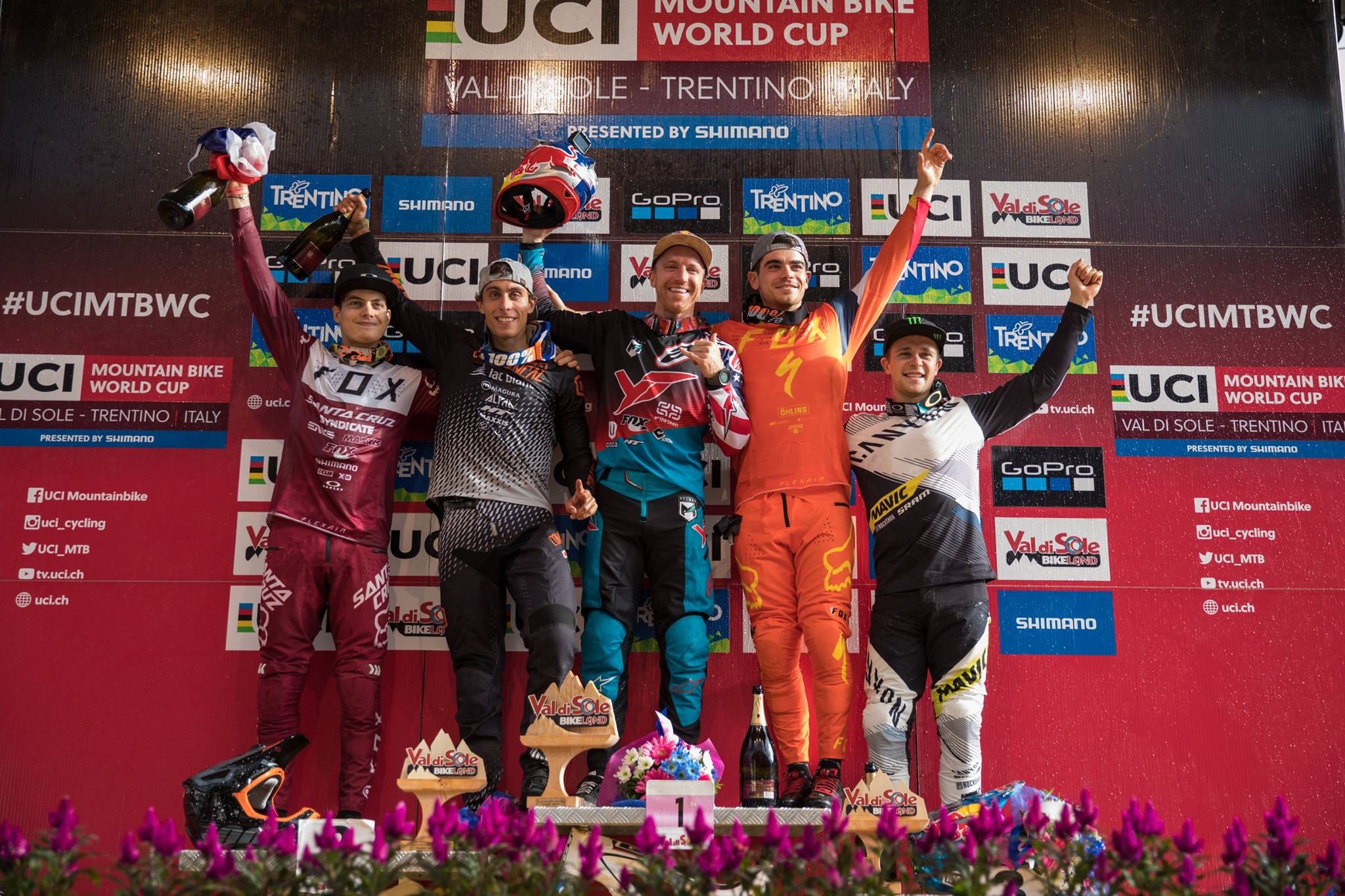 world cup val di sole 2017_podium_photo Cerveny-UCI