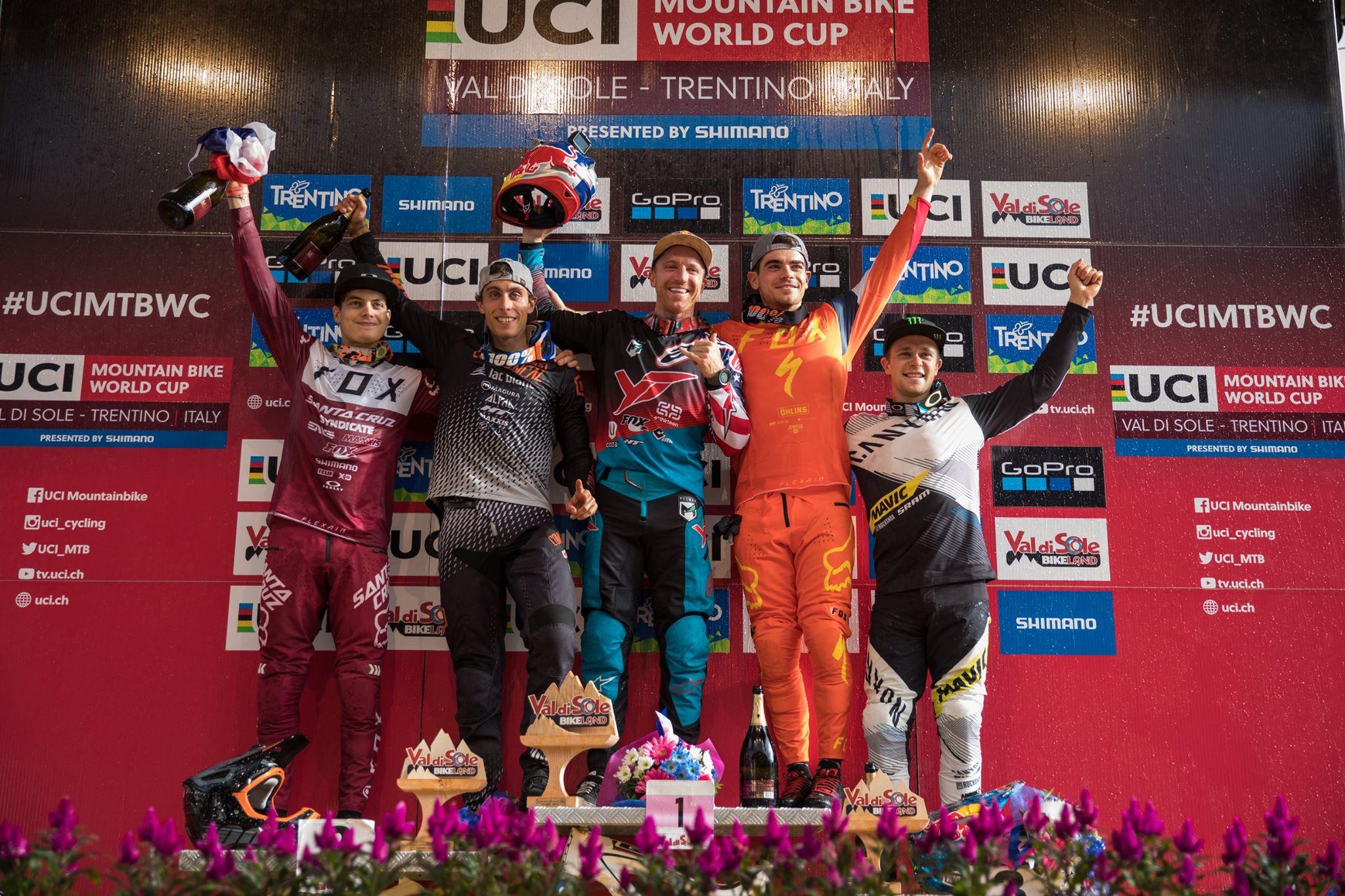 world cup val di sole 2017_podium_photo Cerveny-UCI