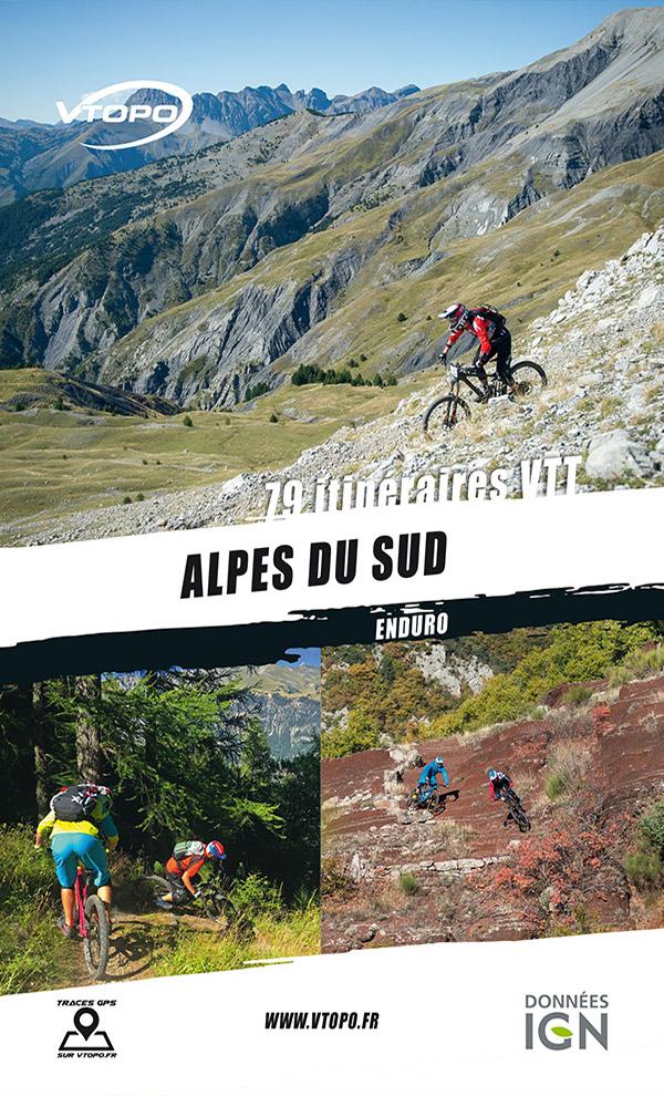 topoguide vtt vtopo mtb enduro alpes du sud