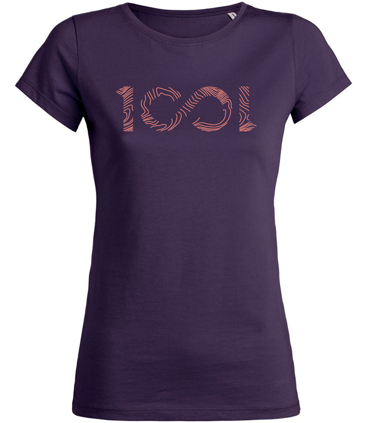 tshirt 1001sentiers 1001 girls 1