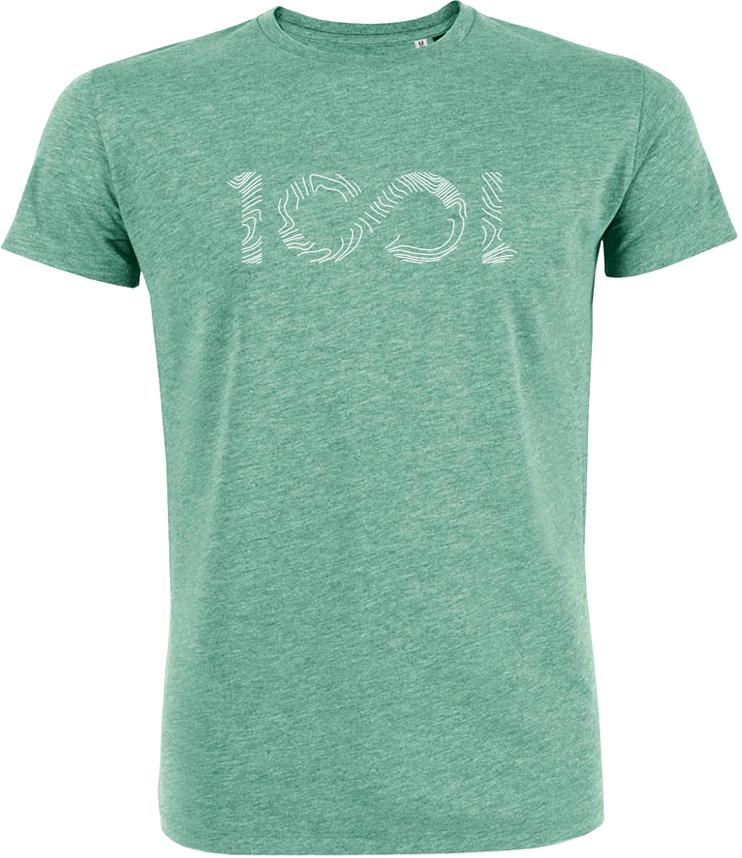 tshirt 1001sentiers 1001 green