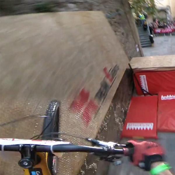 Urban DH de Grasse 2017: le run victorieux de Slavik en vidéo