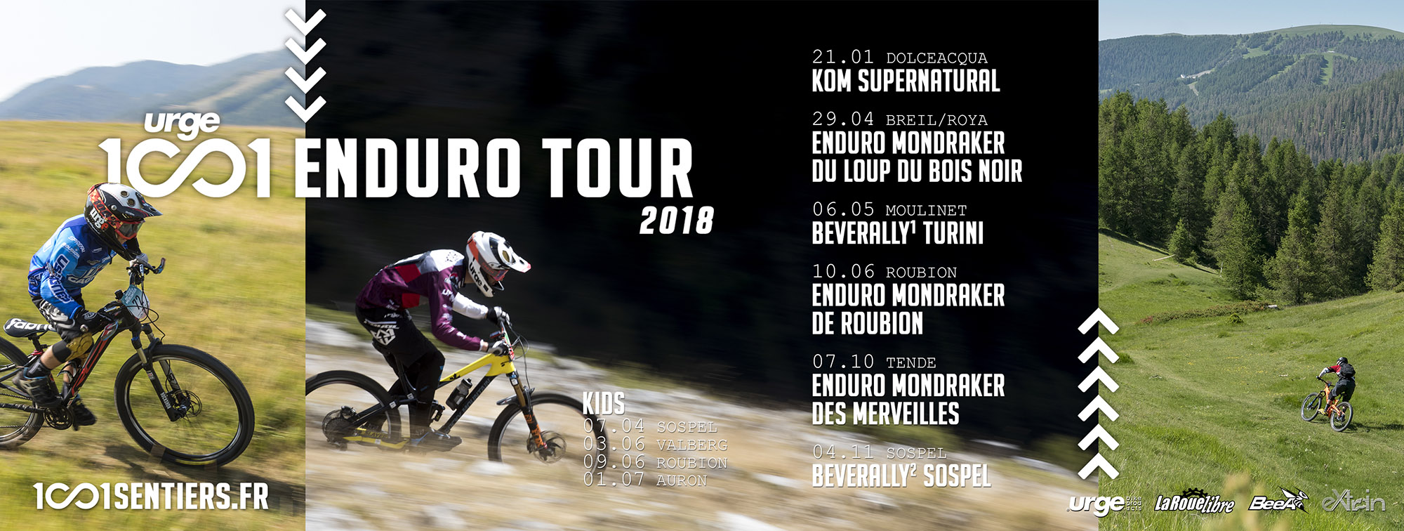 visuel Urge 1001 Enduro Tour 2018