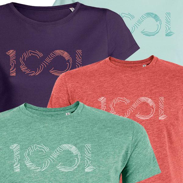 T-shirts 1001sentiers: nouveaux coloris + versions girls
