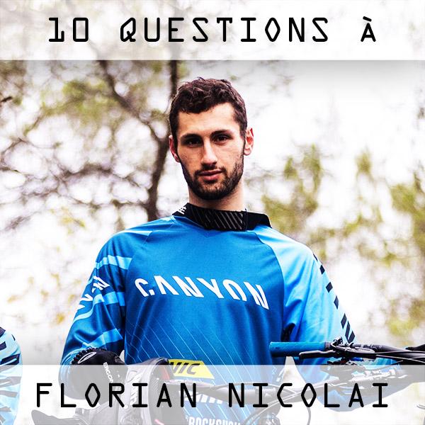 Interview: 10 questions à Florian Nicolaï
