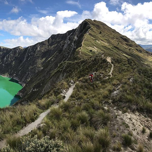 Tito Tomasi à l'assaut du mythique Chemin Inca