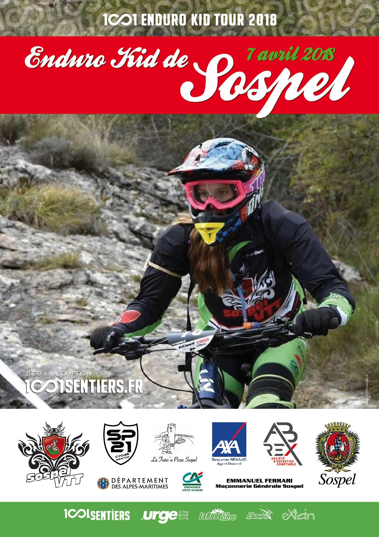 affiche Enduro Kid Sospel 2018_web