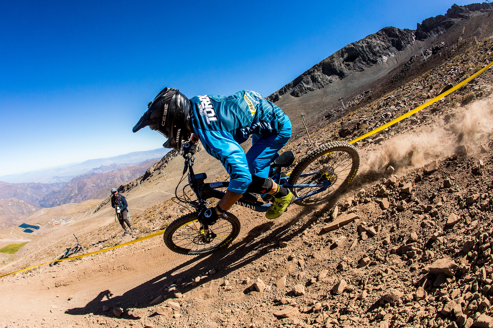 La Parva, Chile. Enduro World Series #1.