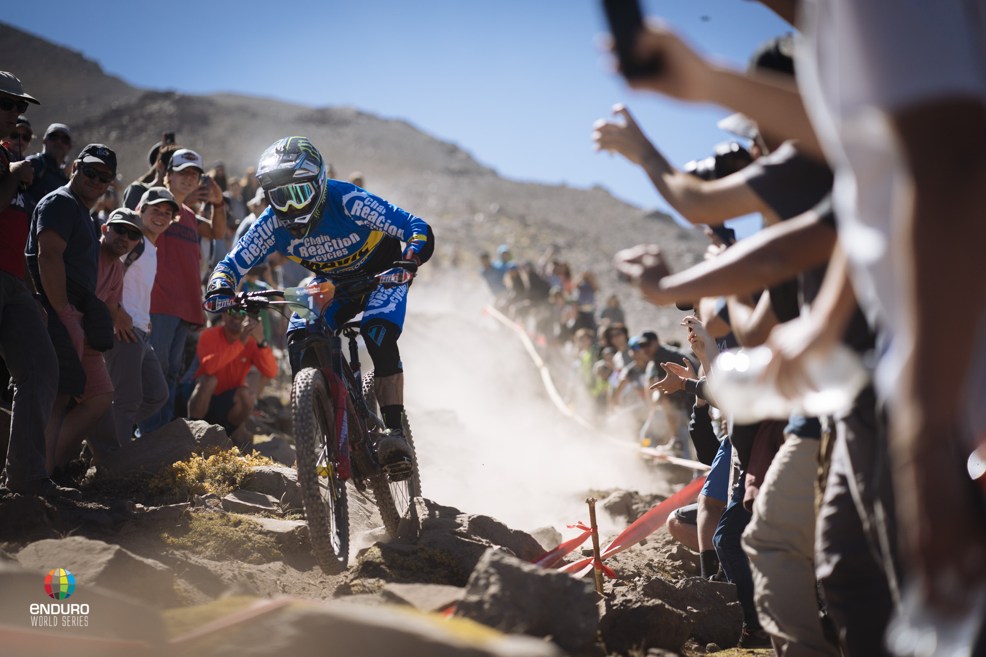 Any time Sam Hill was on track the crowd went wild!