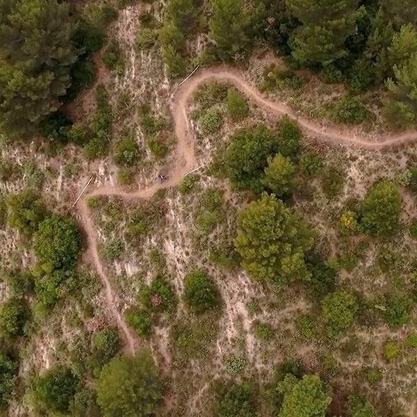 Vidéo: la SP4 du Bois Noir en drone & GoPro