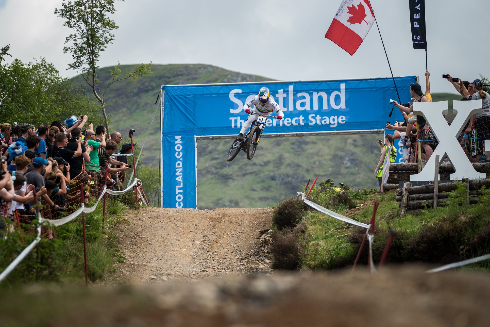 world cup dh 2018 fort-william Bruni 1 Cerveny-UCI