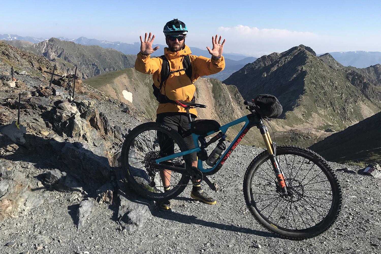 Tito Tomasi traversee Pyrenees 8