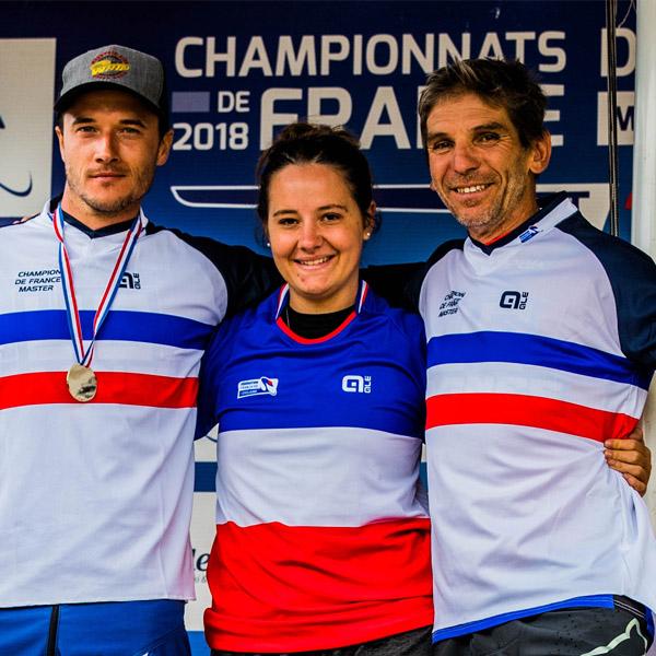 Prouesses azuréennes: championnats France DH 2018