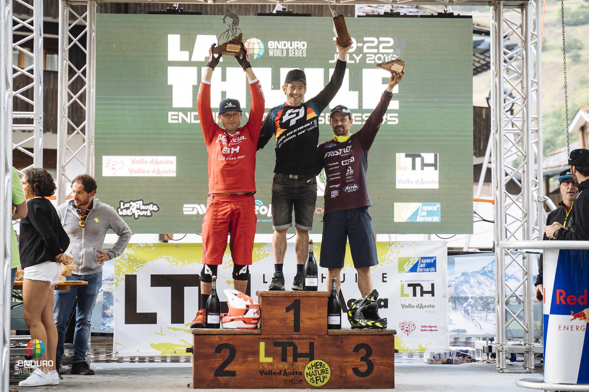 Master Men podium, 1st Florian Golay, 2nd Karim Amour, 3rd Bruno Zanchi