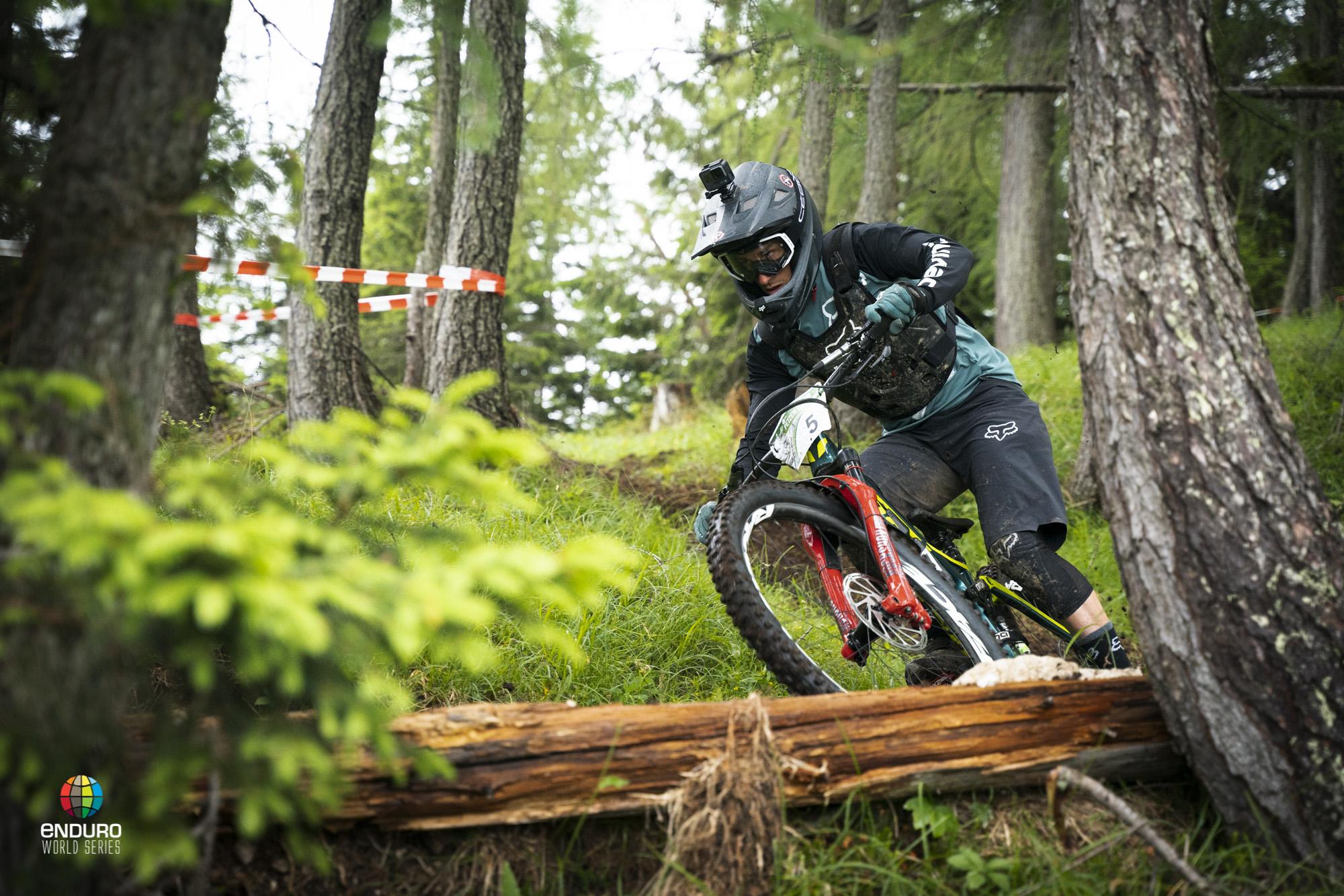 Damian Oton full of focus.