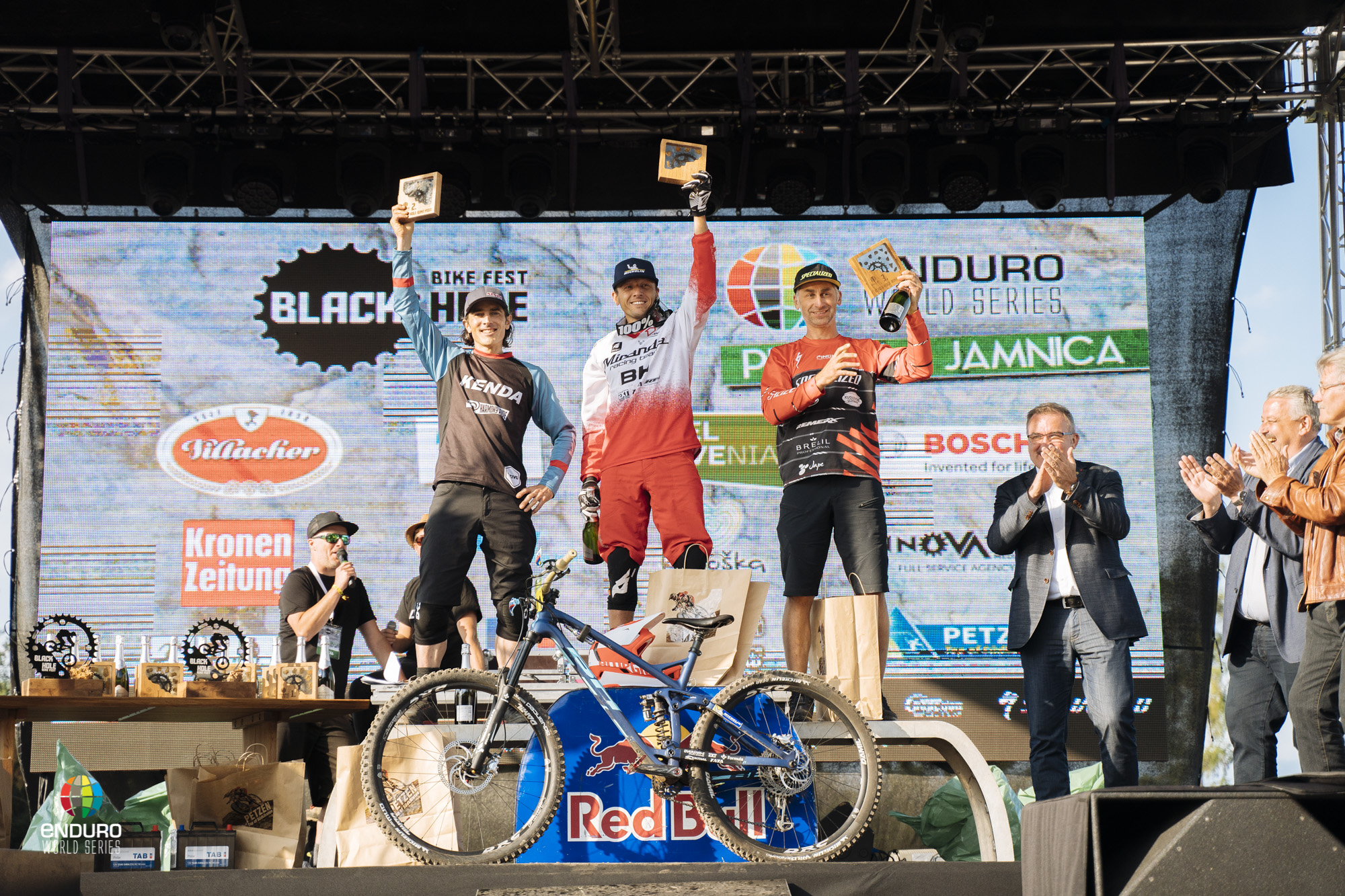 Master Men podium, 1st Karim Amour, 2nd Michael Broderick, 3rd Vlastimil Hyncica