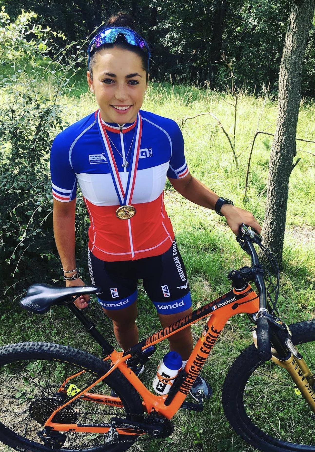 margot moschetti championne france xc marathon 2018