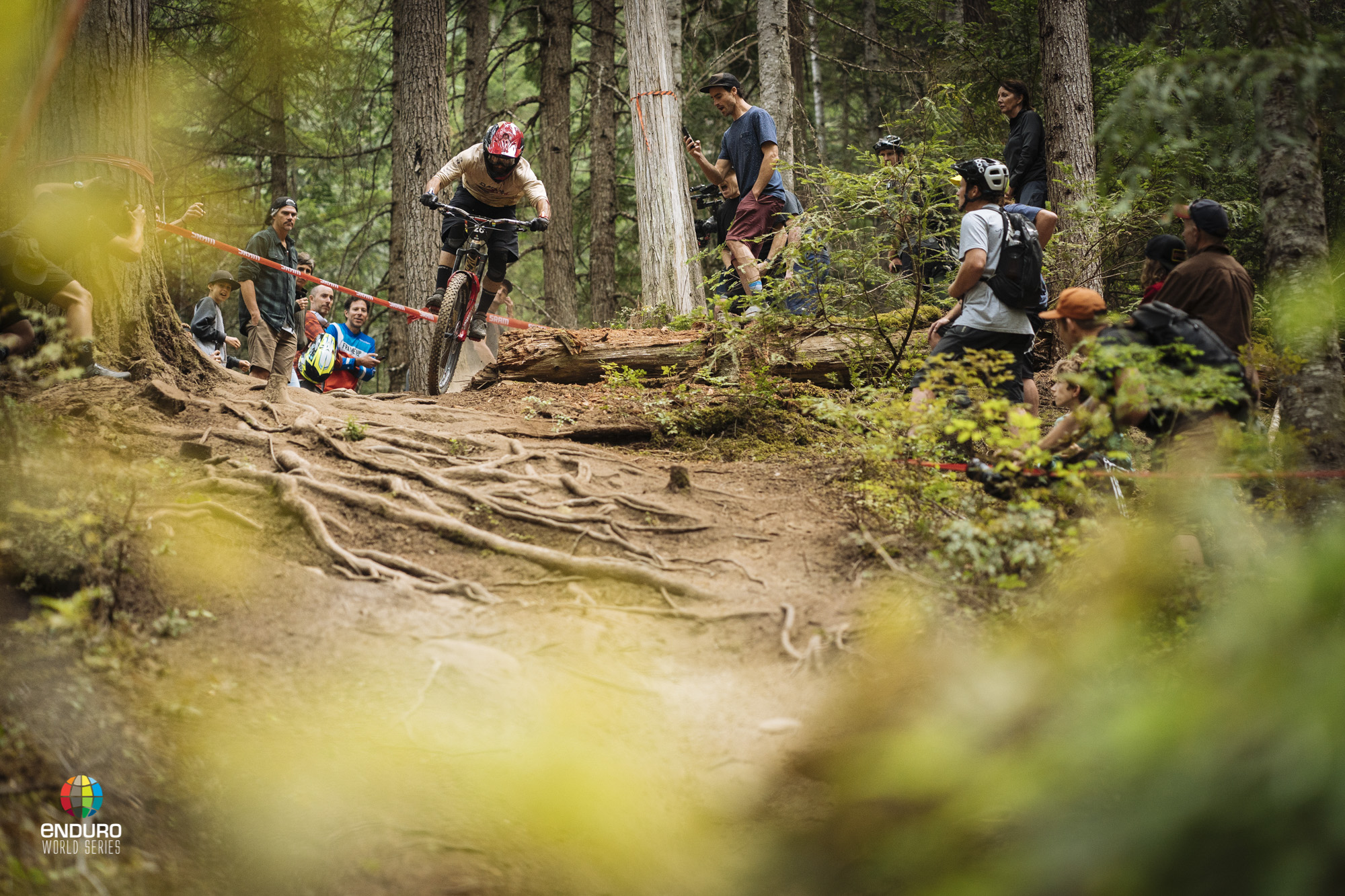 Yoann Barelli is popular whever he races however this is exceptionally so in Whistler.