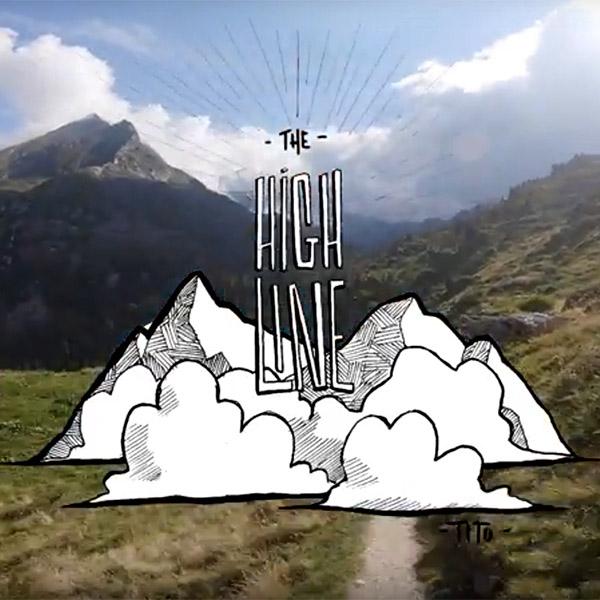 "Vidéo: la ""high line"" alpestre de Tito Tomasi"