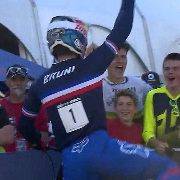 Loïc Bruni de nouveau champion du monde