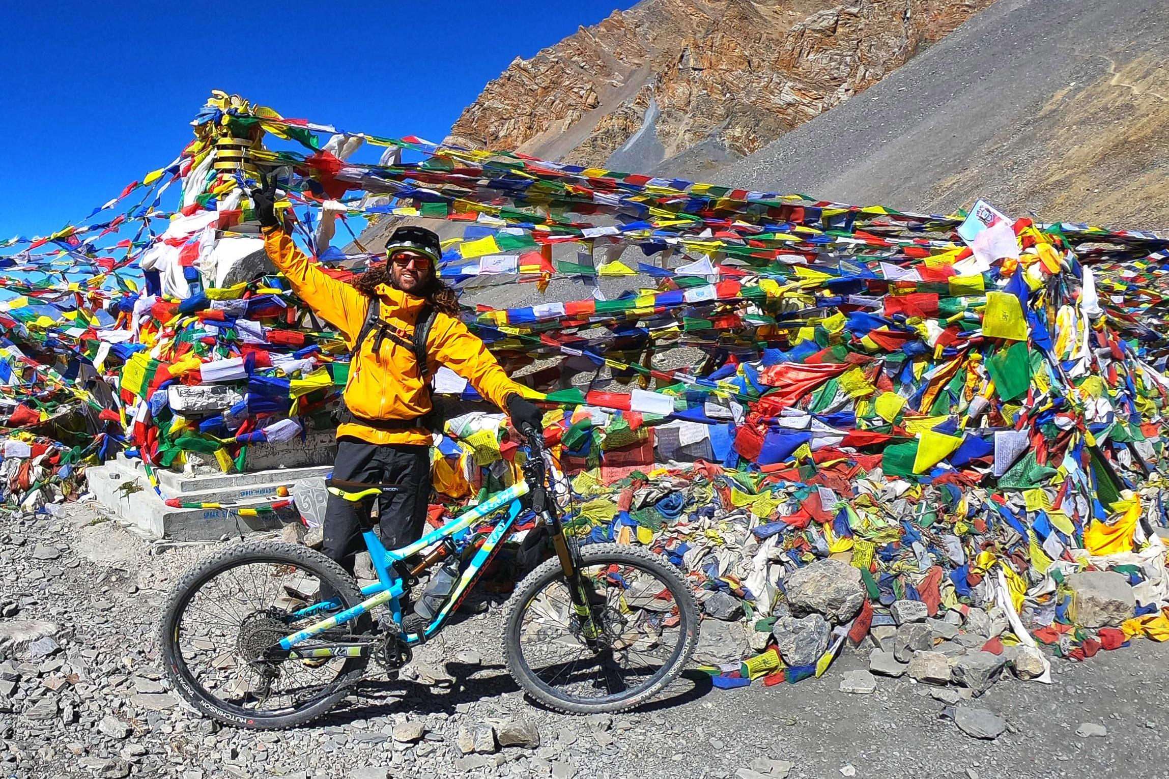 Tito Tomasi Nepal Thorong La pass