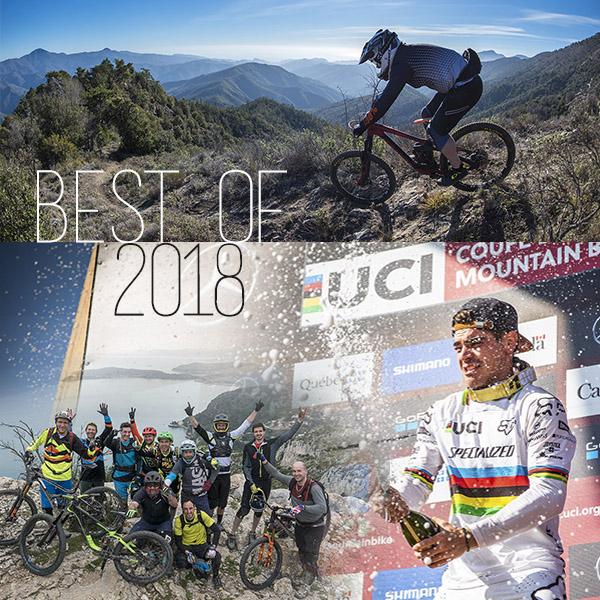 Rétrospective: Best of VTT de l'année 2018