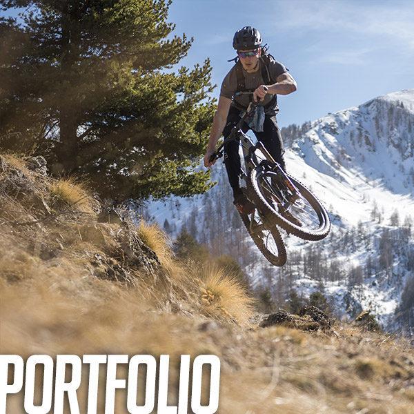 Portfolio: Golden ride hivernal en montagne