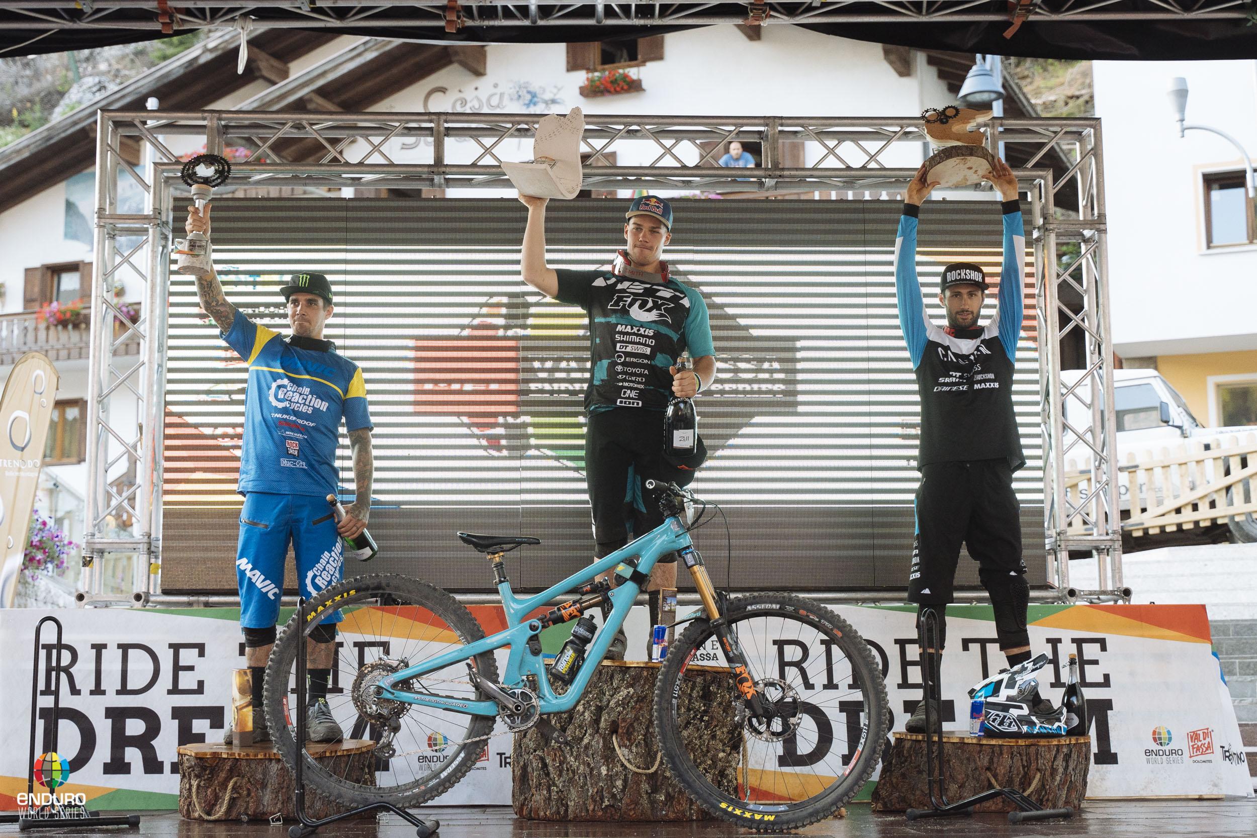EWS ValDiFassa podium H