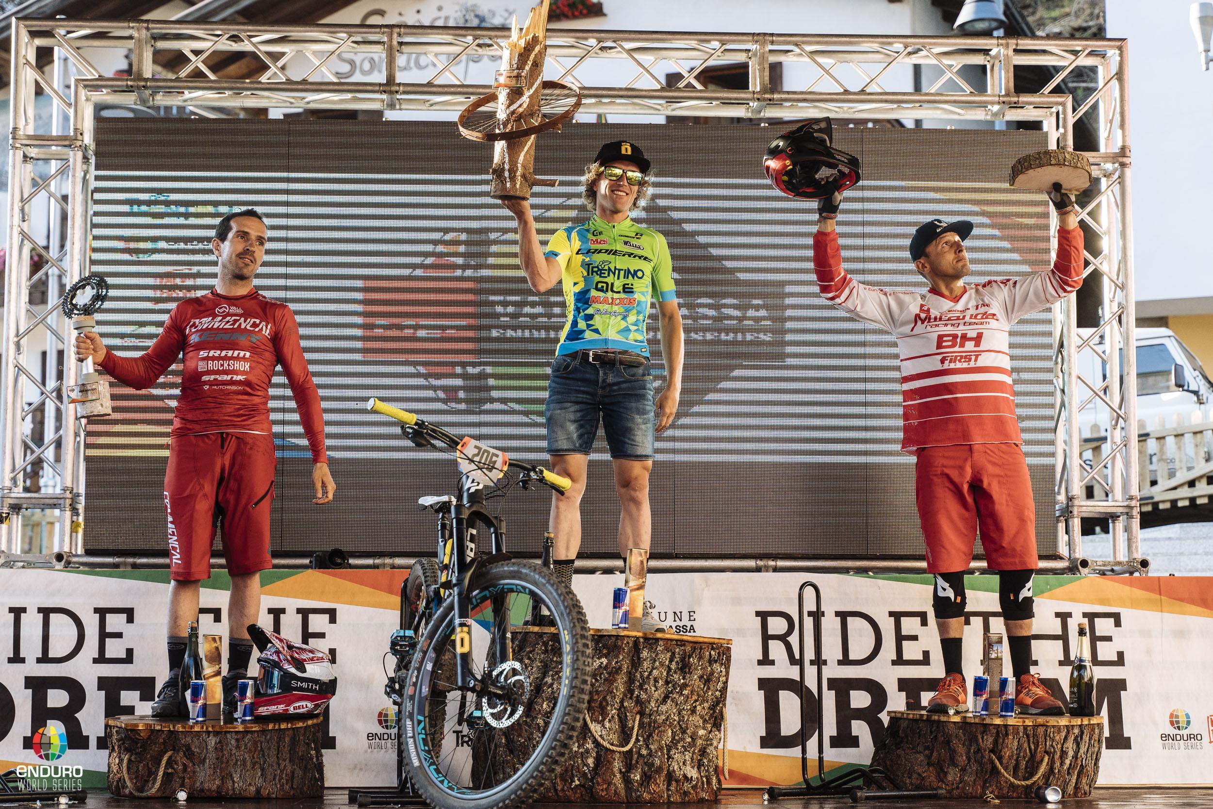 EWS ValDiFassa podium masters